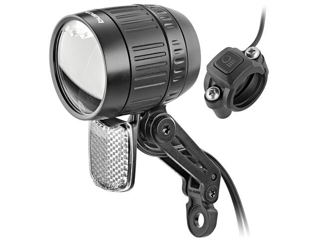 Busch + Müller LumotecIQ-XM Faro delantero LED para E-Bikes 80 Lux, black